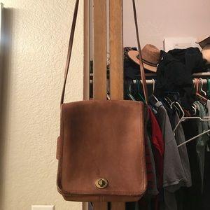 Vintage coach side purse